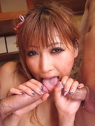 Eri Hoshikawa gets drilled hard