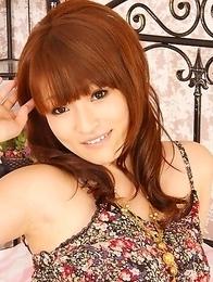 Yukina Mori displaying her cunt