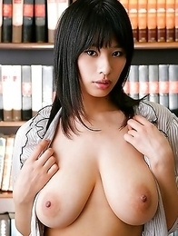 Busty brunette asian honey