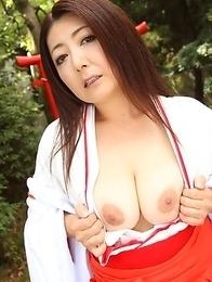 Hot Ayano Murasaki shows her twat