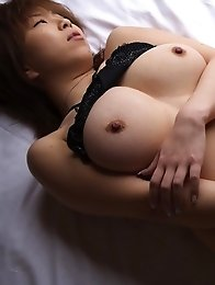 Busty asian babe in sexy lingerie.