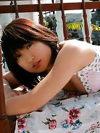 Yoko Kumada showing off her sizzling hot body in a bikini