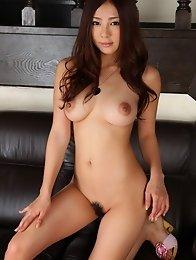 Adorable and busty Japanese av idol Minori Hatsune shows off her beautiful body
