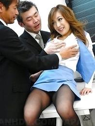 Aiko Nagai wants to blow their dicks